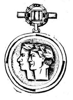 Medal for Outstanding Achievement in Sport, III Class Obverse