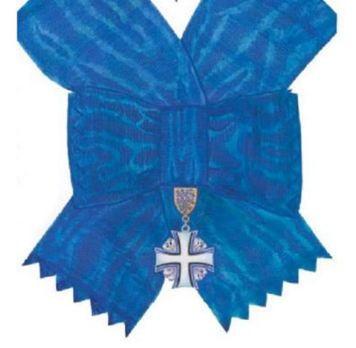 Order of the Cross of Terra Mariana, I Class Cross Obverse