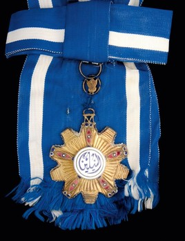 Order of the Two Niles, Grand Cross Obverse