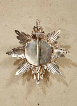Order of Albert the Bear, Grand Cross Breast Star (with diamonds)