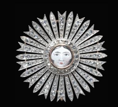 Order of Aftab, Breast Star