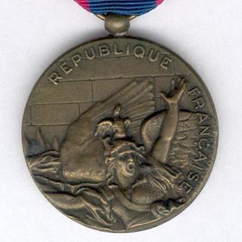 """Bronze Medal (stamped """"D'APRES RUDE"""") Obverse"""