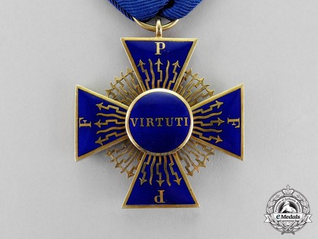 Royal Order of Merit of St. Michael, II Class Knight Cross Reverse
