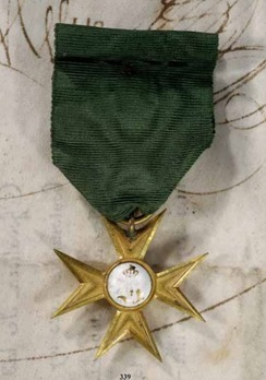 Long Service Decoration, 1848 (Anhalt-Dessau), Cross for 25 Years