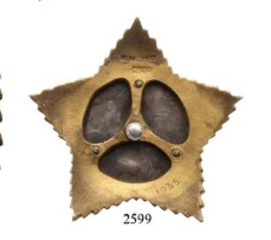 Order of Suvorov, Type II, II Class (#1035) Reverse