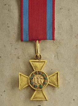 Long Service Decoration, Type I, II Class Cross (in silver gilt)