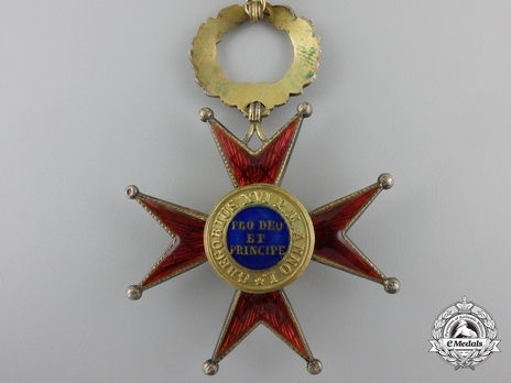 Order of St. George the Great Commander (Civil Division) (with silver-gilt) Reverse