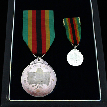 Zimbabwe Independence Medal 1980, in Silver