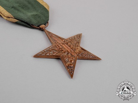 Star of Rural Merit, in Bronze Obverse