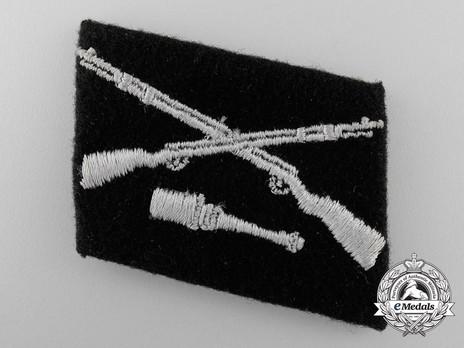 Waffen-SS 'Dirlewanger' Division Collar Tab Obverse