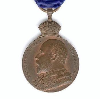 Bronze Medal (1901-1910) Obverse