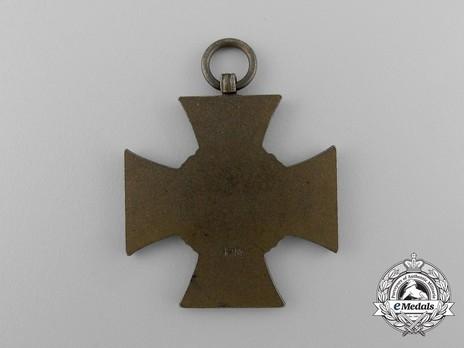 Honour Cross of the World War 1914/1918 (for non-combatants) Reverse