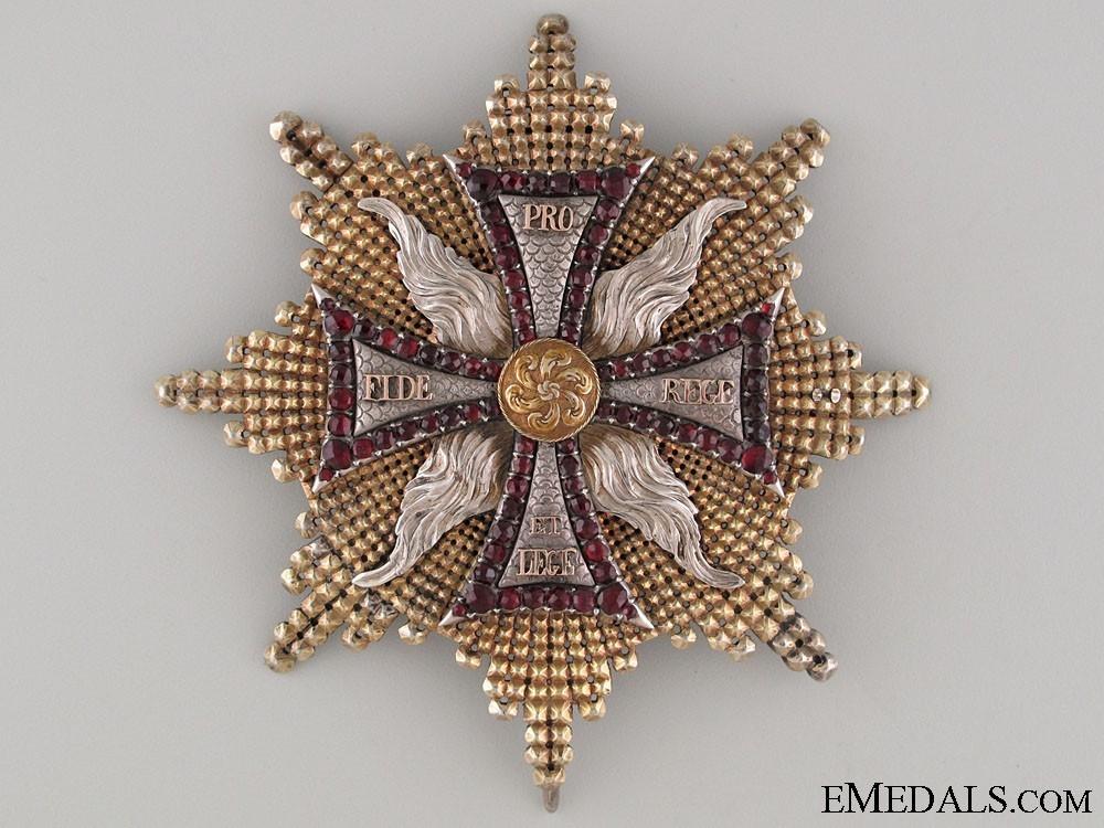 Breast star 1764 1831 obverse