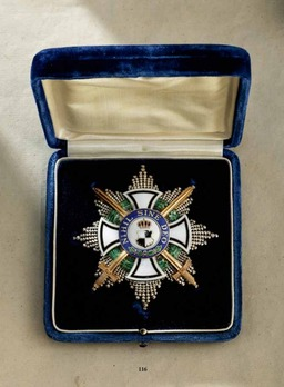 House Order of Hohenzollern, Type II, Military Division, Small Cross for Princess (1866-1918)