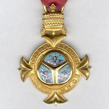 Order of the Holy Trinity, Knight Obverse