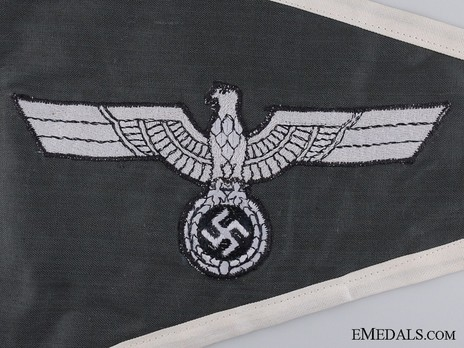German Army Officer's Pennant Obverse Detail