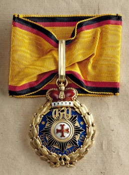 Medal for Art and Science, in Large Gold (in gold, 1903-1918)