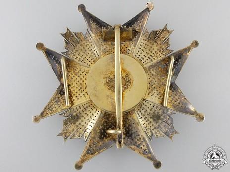 Grand Cross Breast Star Reverse