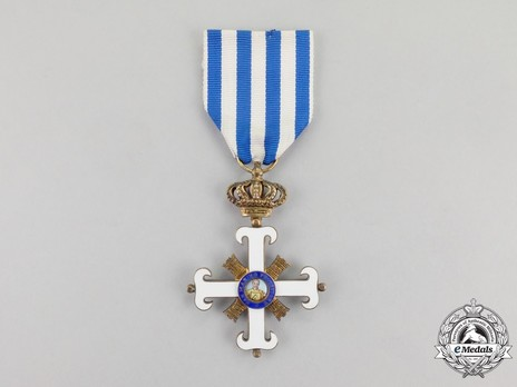 Order of San Marino, Type II, Knight Obverse