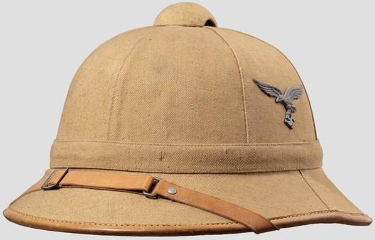 Luftwaffe Tropical Pith Helmet (tan version) Profile