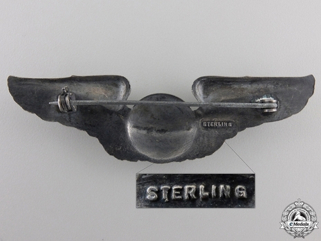 Wings (with sterling silver) Reverse