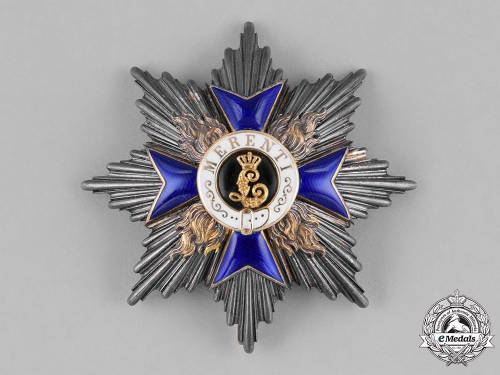 Order+of+military+merit%2c+ii+class+cross+breast+star+1