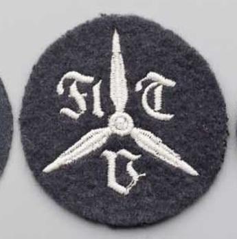 Luftwaffe Preparatory Training School for Aviation Engineers Insignia  Obverse