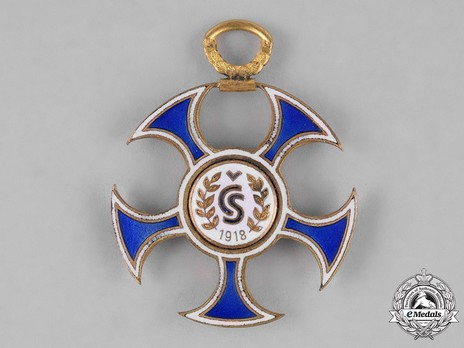 Order of the Falcon, V Class Reverse