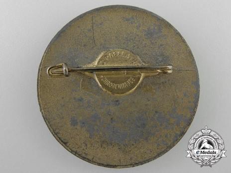 Tyrolean Marksmanship Gau Achievement Badge, Type VII, for Rifle Reverse