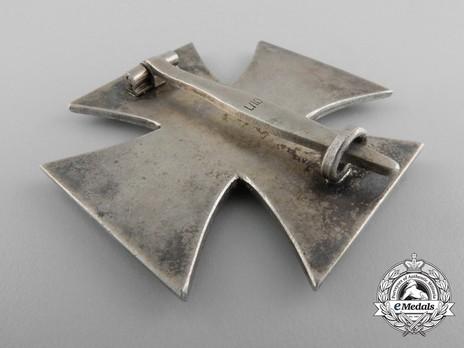 Iron Cross I Class, by Deschler (L/10) Reverse