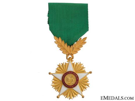 Order of the Lion, Officer Obverse