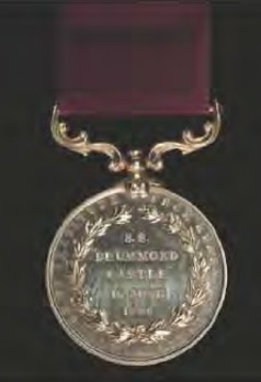 Drummond Castle Medal Reverse