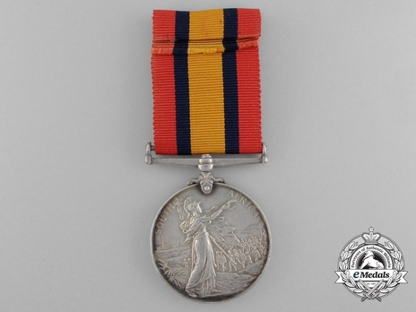 Silver Medal (minted without date) Reverse