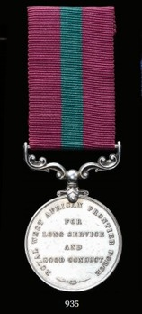 Royal West Africa Frontier Force Long Service and Good Conduct Medal (1903-1928)