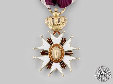 Order of Saint Joseph, Knight Obverse