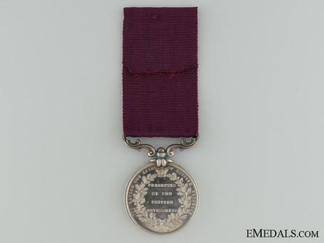 II Class Medal (1854-1901) Reverse