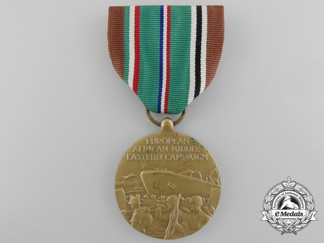 European-African-Middle Eastern Campaign Medal Obverse