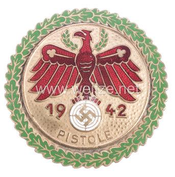 Tyrolean Marksmanship Gau Achievement, Type V, Champion Badge (for pistol) Obverse