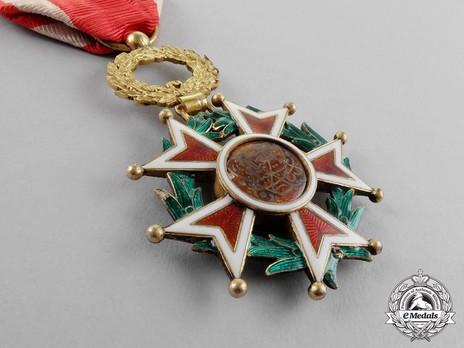 Order of the Brilliant Star of Zanzibar, Type IV, V Class Knight (with portrait) Reverse