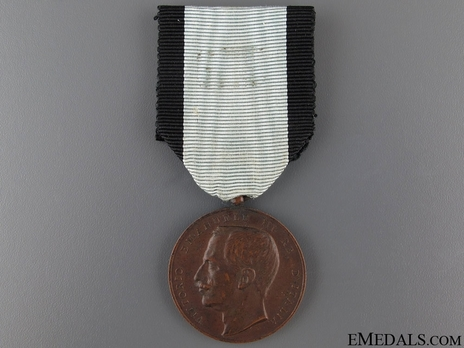 Medal of Merit for Public Health, in Bronze (with young portrait) Obverse