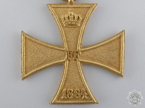 II Class Cross (for women, 1864) (Bronze) Obverse