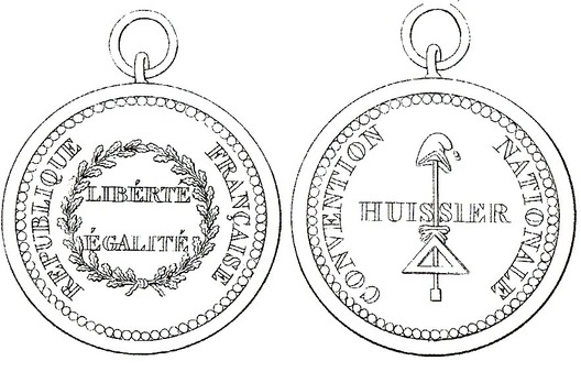 Copper Medal (Usher) Obverse and Reverse
