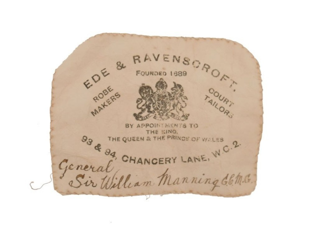 Ede+%26+ravenscroft%2c+london%2c+on+an+embroidered+distinguished+order+of+st+michael+and+st+george