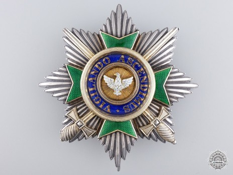 Type II, Military Division, Grand Cross Breast Star (1870-1918)