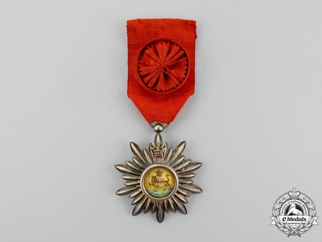 Order of Arts and Science, III Class Obverse