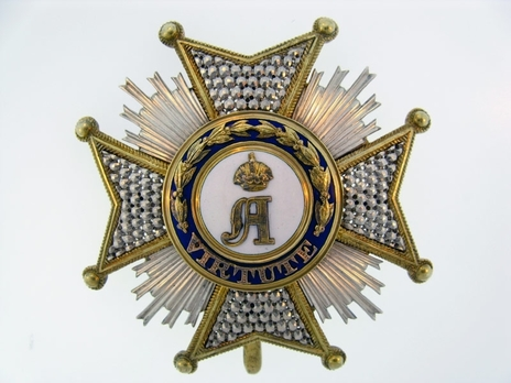 I Class Commander Breast Star (Silver/Silver gilt) Obverse