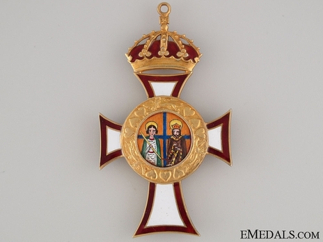 Royal Order of St. George and St. Constantine, Grand Cross (Civil Division)