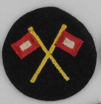 Kriegsmarine Enlisted Men Signal Insignia Obverse