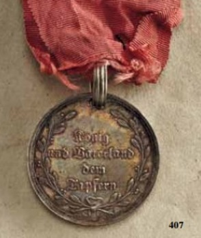 Le Fère-Champenoise Victory Medal, in Silver
