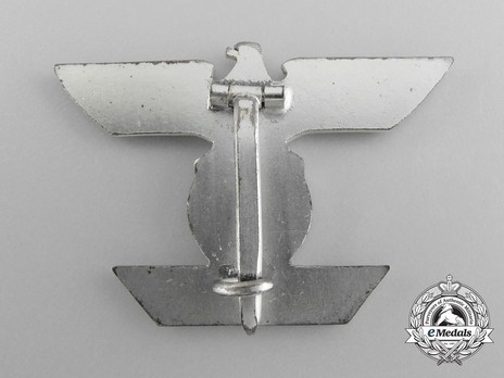 Clasp to the Iron Cross I Class, Type II, by B. H. Mayer (version B) Reverse